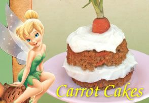 Very Fairy Mini Carrot Cakes