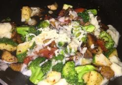 My Diet Low Carb Broccoli And Zucchini by Patricia Sumner Duarte Madisonville, KY
